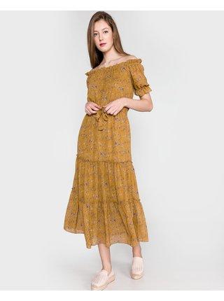 Šaty na denné nosenie pre ženy VILA - žltá