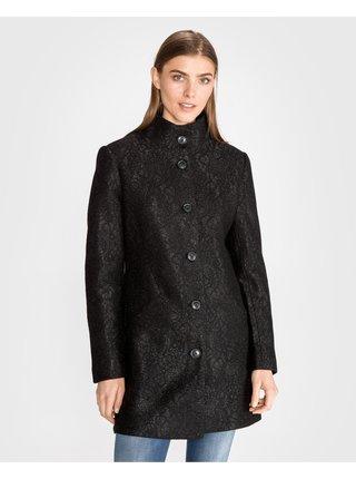 Kabáty pre ženy Desigual - čierna