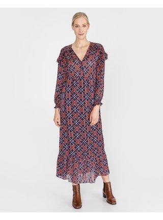Šaty na denné nosenie pre ženy Scotch & Soda - modrá, červená