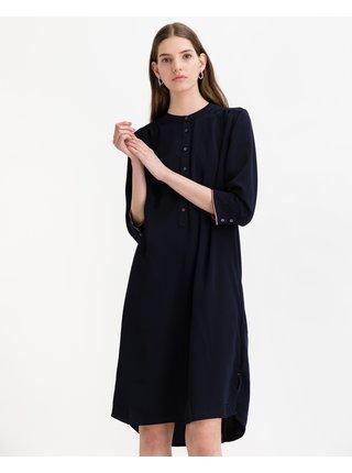 Košeľové šaty pre ženy Tommy Hilfiger - modrá