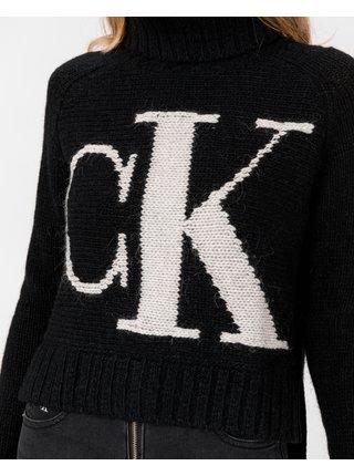 Roláky pre ženy Calvin Klein - čierna