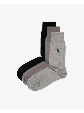 Ponožky 3 páry Polo Ralph Lauren