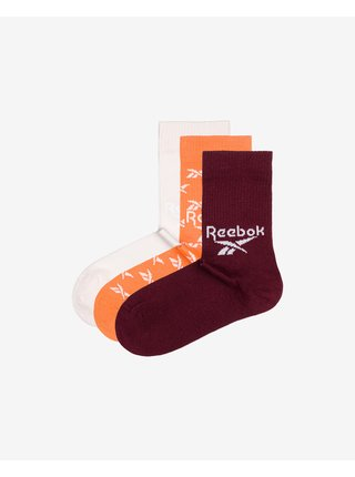 pre mužov Reebok - červená, biela, oranžová