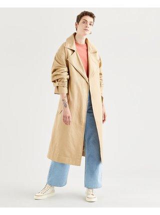 Kabáty pre ženy Levi's® - béžová