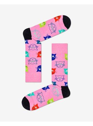 Cat Gift Box Ponožky 3 páry Happy Socks