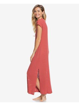 Letné a plážové šaty pre ženy Roxy - ružová