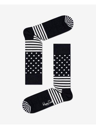 Black & White Ponožky 4 páry Happy Socks