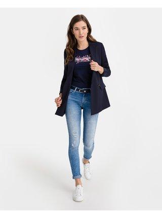 Tričká s krátkym rukávom pre ženy Pepe Jeans - modrá