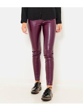 Nohavice pre ženy CAMAIEU - fialová