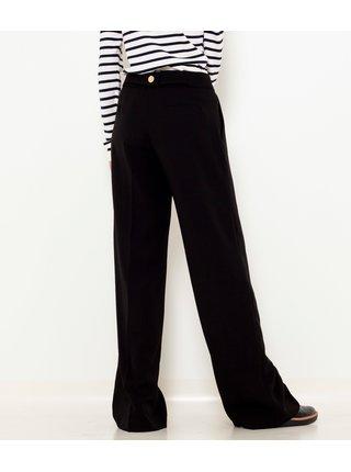 Černé široké kalhoty CAMAIEU