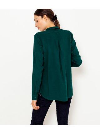Tmavě zelená košile CAMAIEU