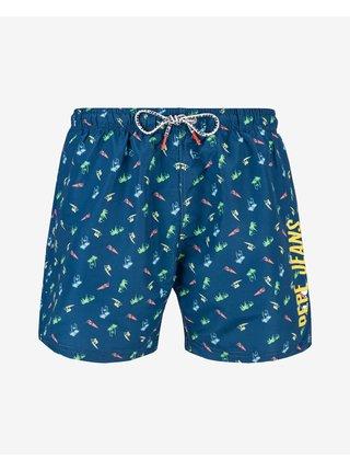 Plavky pre mužov Pepe Jeans - modrá