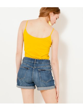 Topy a tričká pre ženy CAMAIEU - žltá