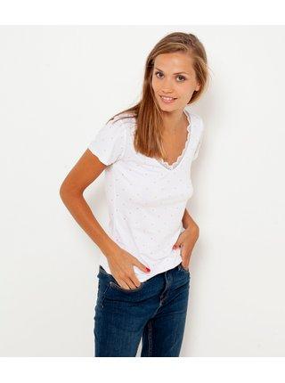 Biele tričko CAMAIEU