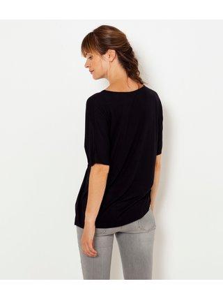 Čierne tričko CAMAIEU