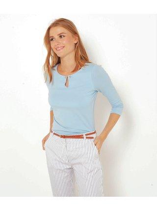 Světle modré tričko CAMAIEU