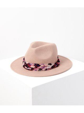 Starorůžový vlněný klobouk CAMAIEU