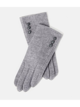 Světle šedé rukavice CAMAIEU