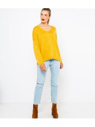 Žltý sveter CAMAIEU