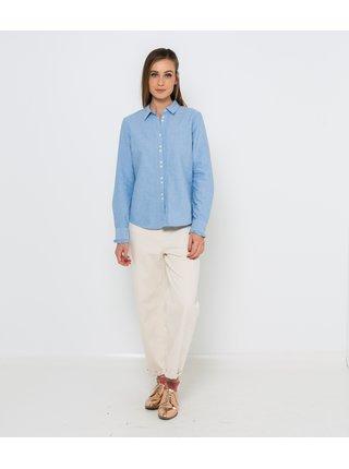 Modrá košeľa CAMAIEU