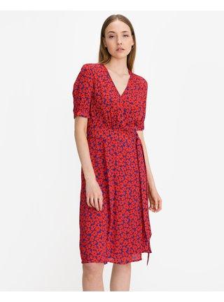 Floral Crepe Wrap Šaty Tommy Hilfiger