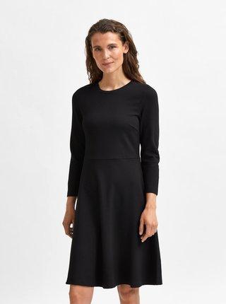 Černé šaty Selected Femme Stella