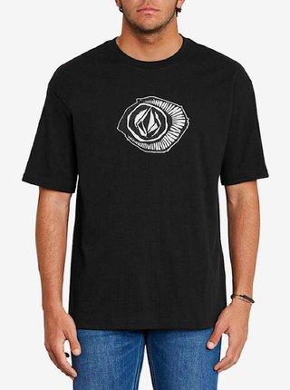 Volcom Sick 180 black pánské triko s krátkým rukávem - černá