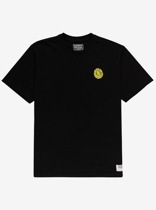 Element THE VISION FLINT BLACK pánské triko s krátkým rukávem - černá