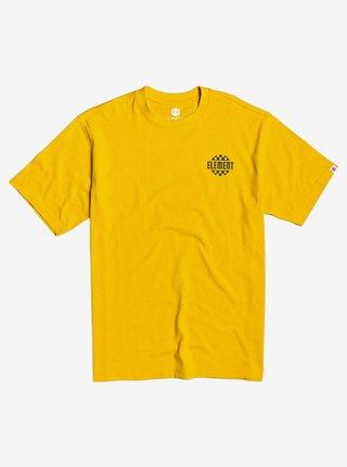 Element FASTER OLD GOLD pánské triko s krátkým rukávem - žlutá