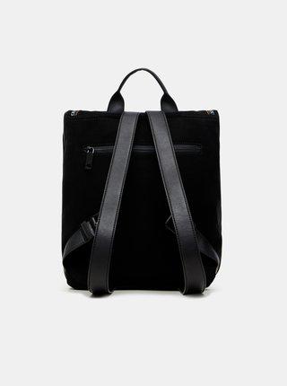 Čierny dámsky vzorovaný batoh Desigual July Tribu Nerano