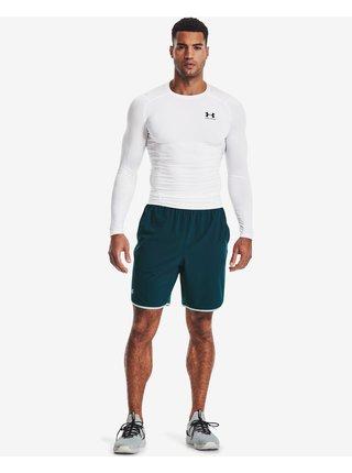 Tričká s dlhým rukávom pre mužov Under Armour - biela