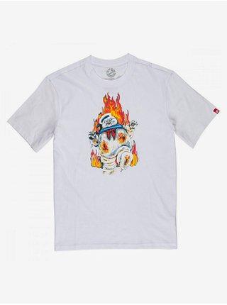 Element INFERNO OPTIC WHITE pánské triko s krátkým rukávem - bílá