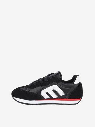 Etnies Lo-Cut CB black letní boty dětské - černá