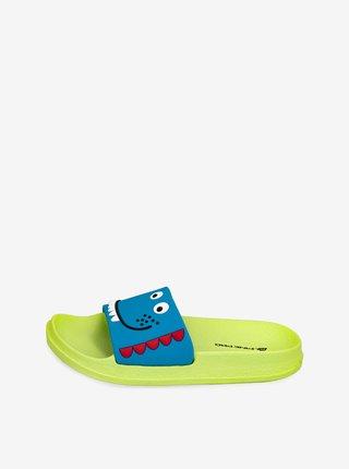 Dětské obuv letní ALPINE PRO Akoto žlutá