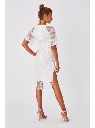 Spoločenské šaty pre ženy Little Mistress - biela