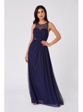 Spoločenské šaty pre ženy Little Mistress - modrá