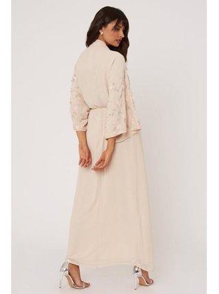 Spoločenské šaty pre ženy Little Mistress - telová