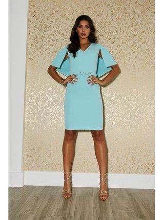 Modré pouzdrové šaty LITTLE MISTRESS