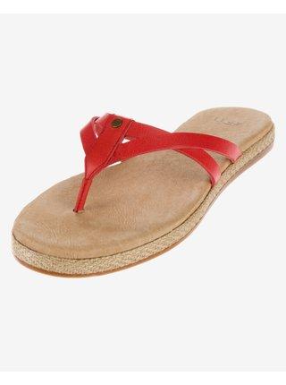 Papuče, žabky pre ženy UGG - červená
