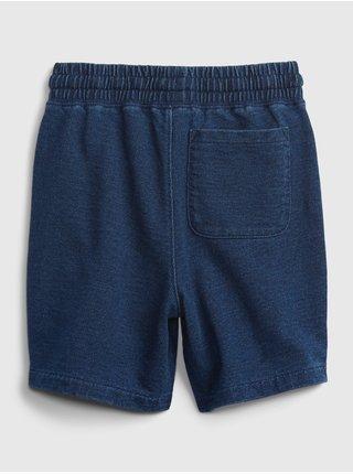 Modré klučičí kraťasy pull-on shorts