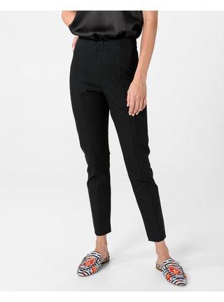 Nohavice pre ženy Tommy Hilfiger - čierna