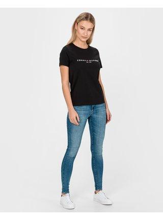 Skinny fit pre ženy Tommy Jeans - modrá