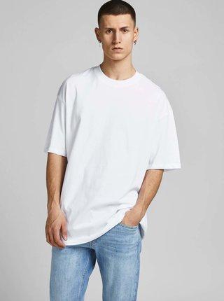 Bílé basic tričko Jack & Jones Brink Tee