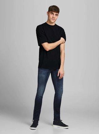 Černé basic tričko Jack & Jones Brink Tee