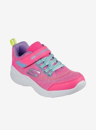 Ružové dievčenské tenisky Skechers