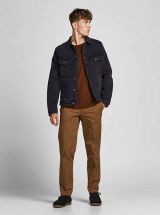 Černá džínová bunda Jack & Jones Alvin