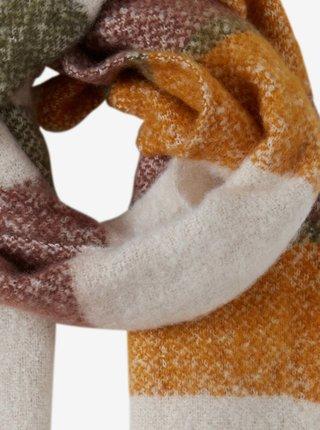 Šatky, šály pre ženy ICHI - béžová, horčicová