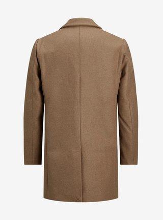 Hnedý kabát Jack & Jones Marco