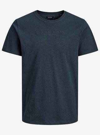 Tmavě modré basic tričko Jack & Jones Rome Tee