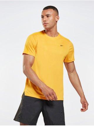 Tričká s krátkym rukávom pre mužov Reebok - žltá